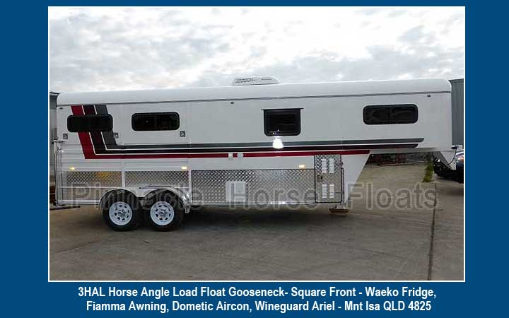 gooseneck 3 horse load float 43