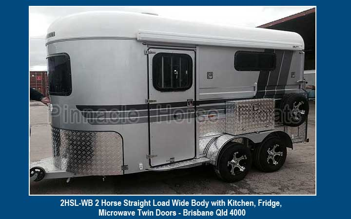 2HSL-WB 2 Horse Straight Load Wide Body 4