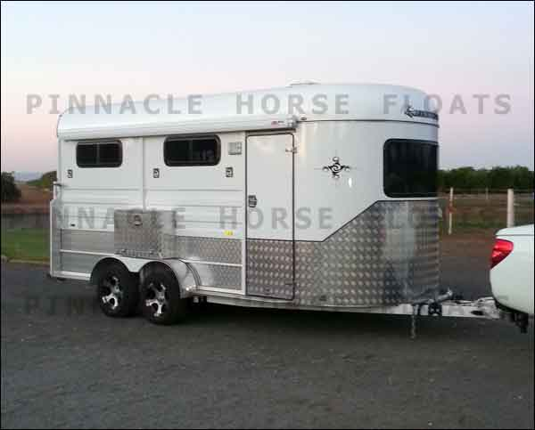 3HAL-L Horse Float with Awning and Side Box Dubbo NSW 2