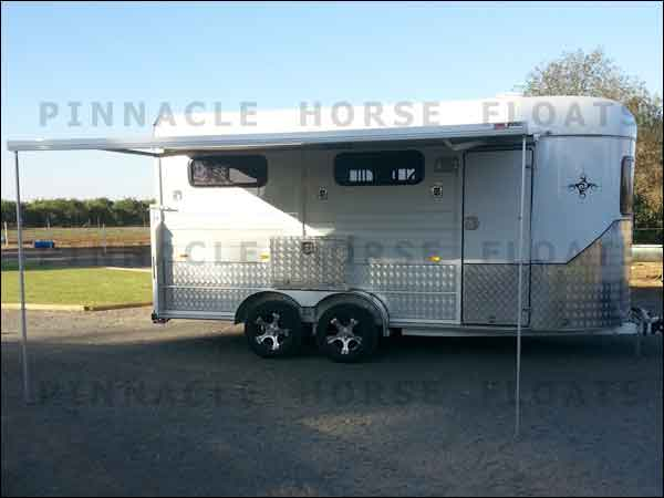3HAL-L Horse Float with Awning and Side Box Dubbo NSW 4