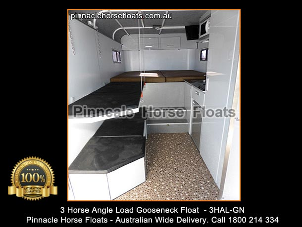 Horse Angle Load Float For Sale With Kitchen
